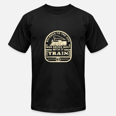 Train Driver Train driver - Men's  Jersey T-Shirt