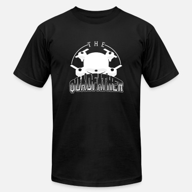 Quadfather The Quadfather | Enthusiastic Drone Pilot - Men's  Jersey T-Shirt