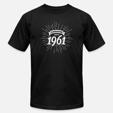 Awesome 1961 Awesome since 1961 - Men's Jersey T-Shirt