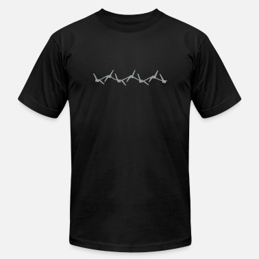 Barbed Wire Barbed Wire - Unisex Jersey T-Shirt