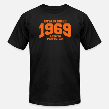 Est aged to perfection established 1969 - Men's Jersey T-Shirt
