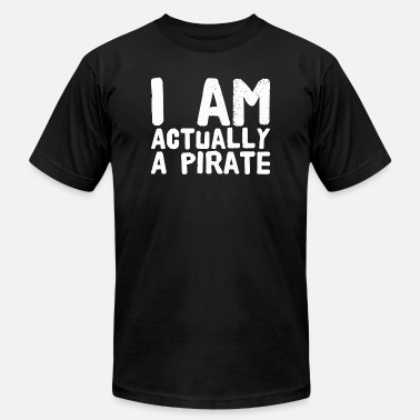 Pirate Radio Pirate - I'm actually a pirate - Men's  Jersey T-Shirt