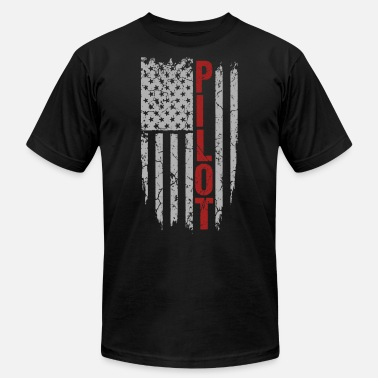 Twenty One Pilots Pilot - United States of American flag - Men's  Jersey T-Shirt