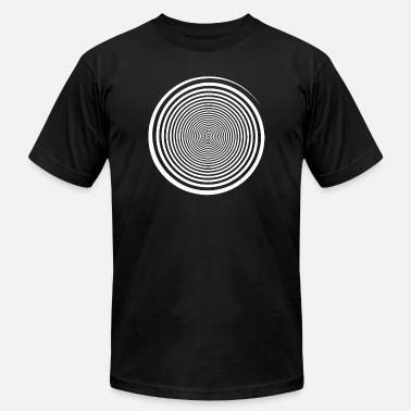 Turn Up Juicy J Trippy - White Swirl Self Hypnosis - Hypnotic Tr - Men's  Jersey T-Shirt