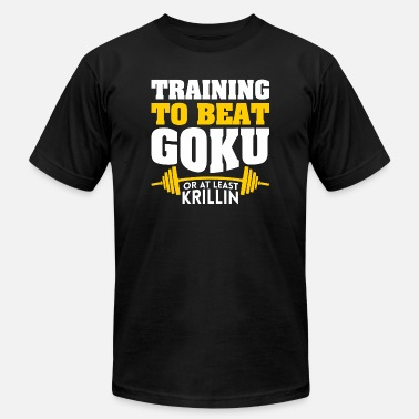 Goku Vs Frieza Goku - Training To Beat Goku Or Atleast Krillin - Men's Jersey T-Shirt
