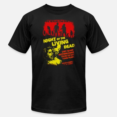 Evil Night of the living dead - Evil walks the earth - Men's Fine Jersey T-Shirt