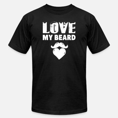 My Beard Beard - Beard - Love My Beard - Men's Fine Jersey T-Shirt