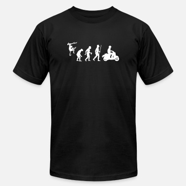 82cd3f7d Scooter - Evolution of Man and Scooter - Men's Jersey T-