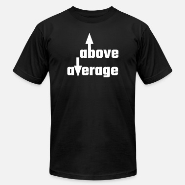 Cocky And Funny Cocky - Above Average - Men's  Jersey T-Shirt