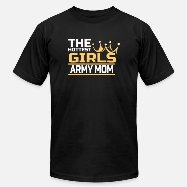 Army Girl Army mom - the hottest girls army mom - Men's  Jersey T-Shirt