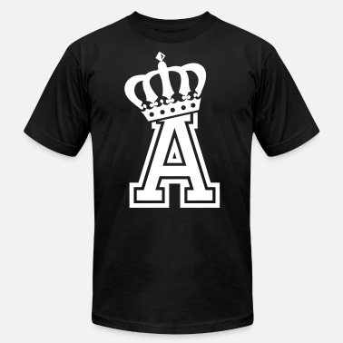 First Name Name: Letter A Character A Case A Alphabetical A - Unisex Jersey T-Shirt