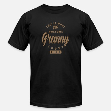 Awesome Granny Looks Like Awesome Granny - Unisex Jersey T-Shirt