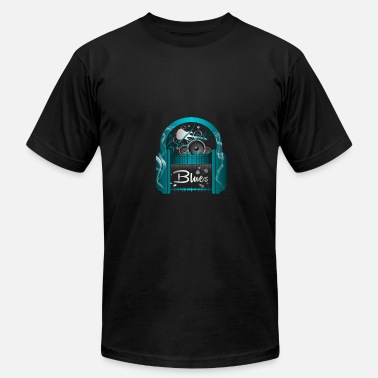 Music Blues Blues Music - Men's Jersey T-Shirt