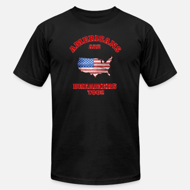 Bicker Political Americans Are Dreamers Too 5 - Men's Jersey T-Shirt