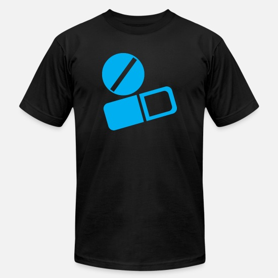 Doctor T-Shirts - tablets and capsules - Men's Jersey T-Shirt black