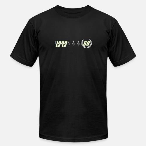 69th Birthday Running Countdown Mens Jersey T Shirt