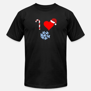 I Love Winter I Love Winter - Men's Jersey T-Shirt