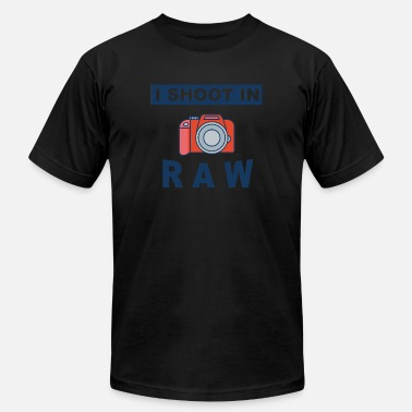Shooting Photographer Photographer - I shoot in Raw - Men's  Jersey T-Shirt
