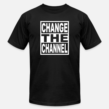 Channeling Change The Channel - Unisex Jersey T-Shirt