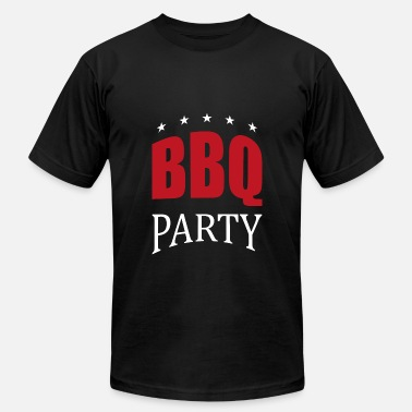 Bbq Party BBQ Party Star Design - Men's  Jersey T-Shirt