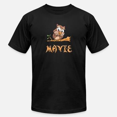 Mavis Mavie Owl - Men's  Jersey T-Shirt