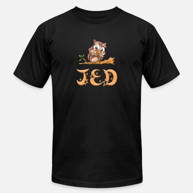 Jed Jed Owl - Men's  Jersey T-Shirt