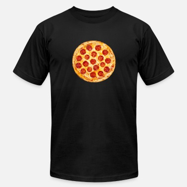 Pepperoni Pepperoni Pizza - Men's  Jersey T-Shirt