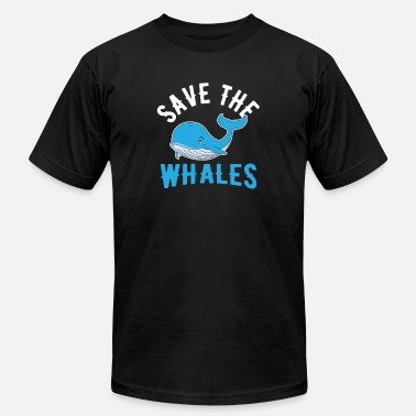 Sea Rescue Whale sea animal water animal welfare rescue - Men's  Jersey T-Shirt