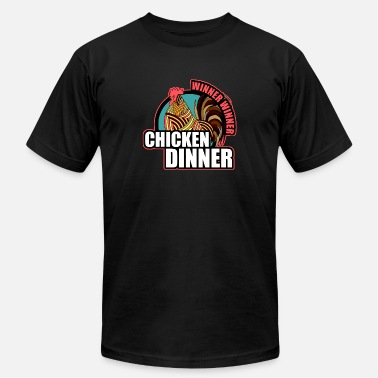 Birthday Dinner winnner winner chicken dinner - Men's  Jersey T-Shirt