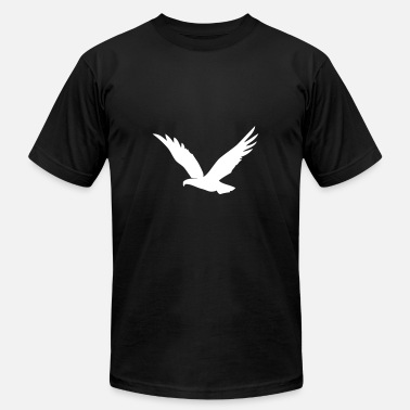 Over The Hill Bird Flying Over The Hills - Men's  Jersey T-Shirt