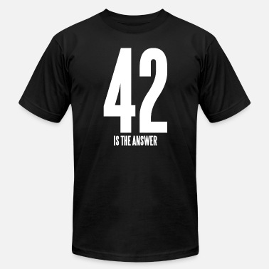 42 Is The Answer 42 IS THE ANSWER - Men's  Jersey T-Shirt