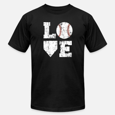 Baseball Love baseball love - Men's  Jersey T-Shirt