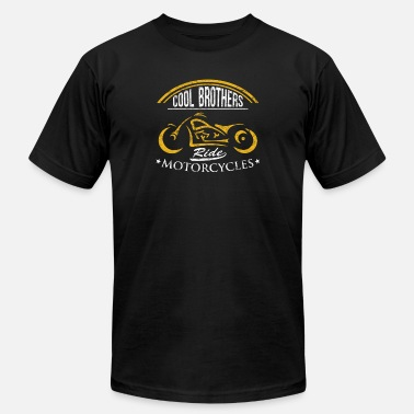 Biker Brother Brother Biker Gear Cool Brothers Ride Motorcycles - Men's Jersey T-Shirt