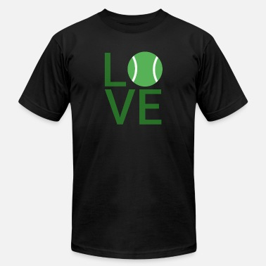 Tennis Love Love Tennis - Men's  Jersey T-Shirt