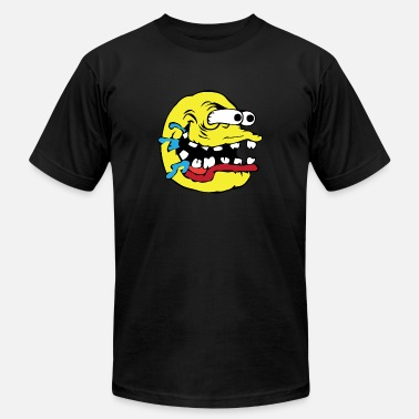 Drool Monster drooling - Men's  Jersey T-Shirt