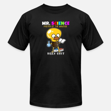 Mr University Mr. Science Scientist Master Universe Teacher Gift - Men's  Jersey T-Shirt