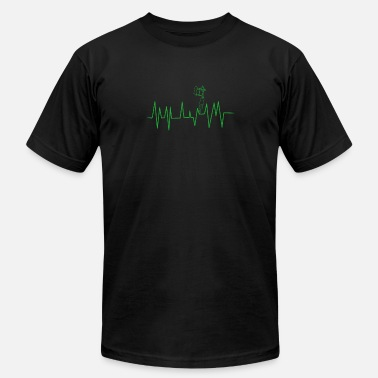Tattoos artist heart beat tattoo needle gift - Men's  Jersey T-Shirt