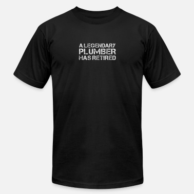6aa020ad5d Funny Retired Plumber Retirement Party Gift - Men's Jersey T-Shirt.  Men's Jersey T-Shirt