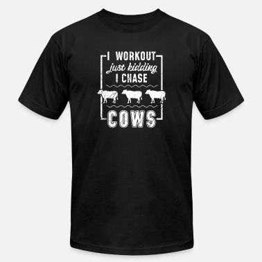 Dairy Cow cow cow moo cows milk cow cattle calf Cow - Men's Jersey T-Shirt