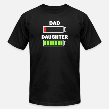 Tired Funny Tired Dad Shirt - Unisex Jersey T-Shirt
