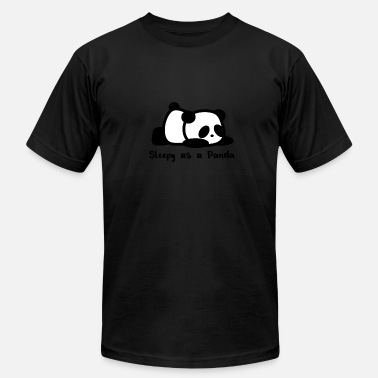 Sleeping Panda Panda Sleep - Men's  Jersey T-Shirt