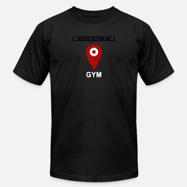 Gyms Gym Gym Gym - Men's  Jersey T-Shirt