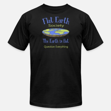 Flat Flat Earth Society T-Shirt - Men's  Jersey T-Shirt