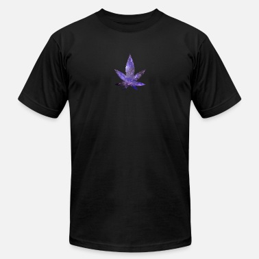 Weed Space Space Weed - Men's  Jersey T-Shirt