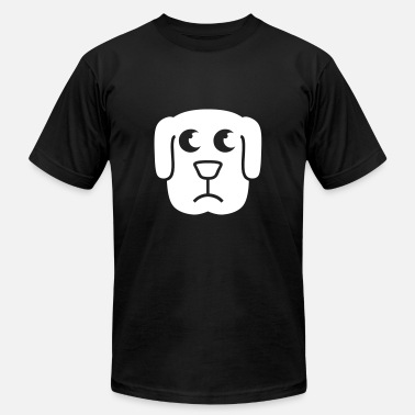 Sad Puppy Sad Puppy Face - Men's  Jersey T-Shirt