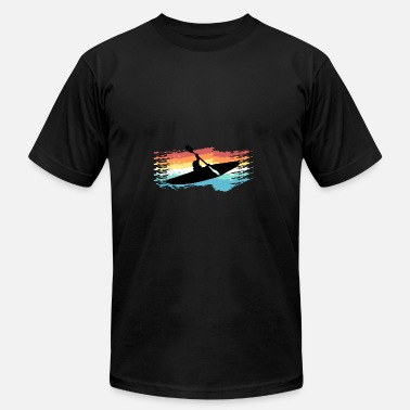 Lake Kayaking Kayak - Men's  Jersey T-Shirt