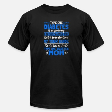 T1d Shirt for diabetes awareness day - Type one mom - Men's Fine Jersey T-Shirt