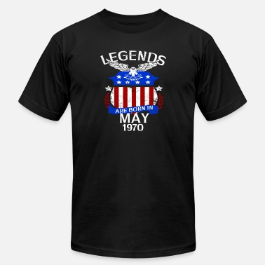May 1970 Legends Are Born In May 1970 - Men's  Jersey T-Shirt