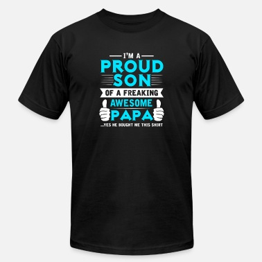 Papa Son son of a papa - Men's  Jersey T-Shirt