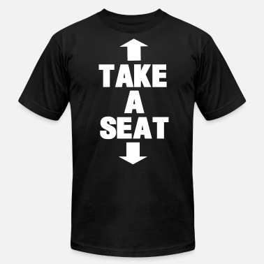 Seat TAKE A SEAT - Men's Jersey T-Shirt
